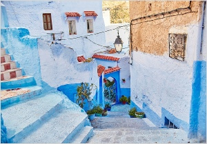 private 3 days Casablanca tour to Chefchaouen and Fes,Morocco private tour